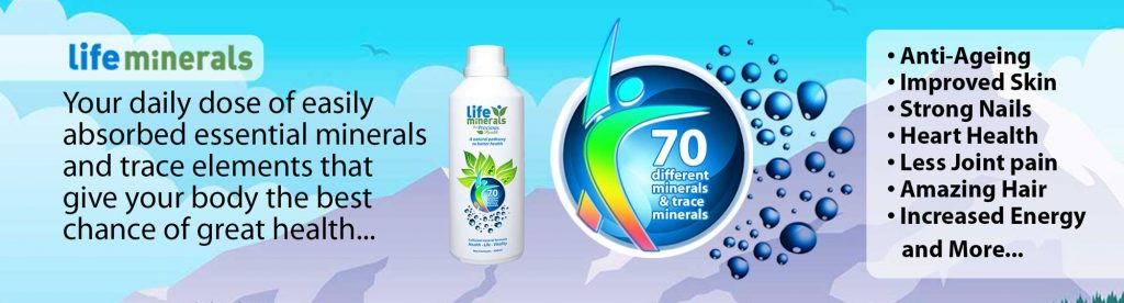 Life Minerals Colloidal Formula - Travel Pack 3 x 100ml Life Minerals
