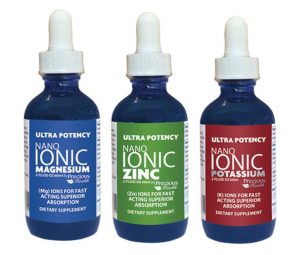Ultra Potent Nano Ionic Liquid Zinc + Vitamin C, 60ml STAR FOOD with Monatomic Gold