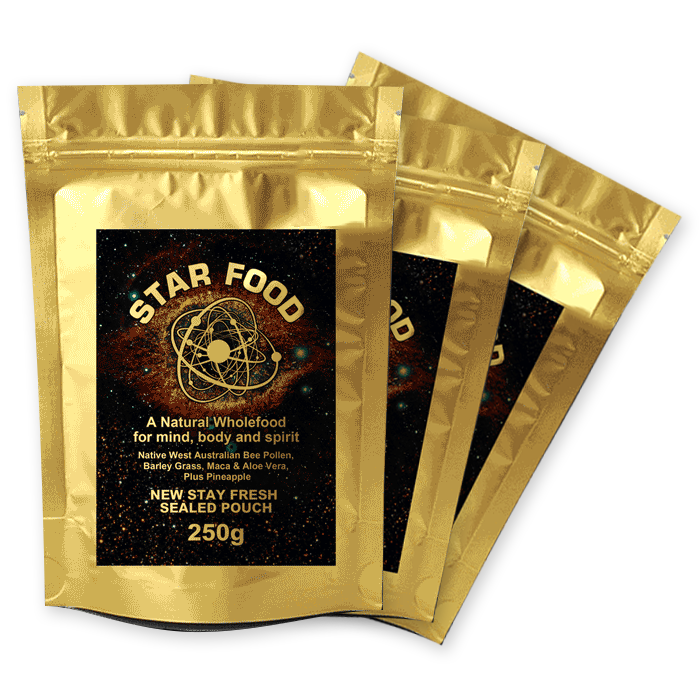 Star Food with Monatomic Gold 3 x 250g
