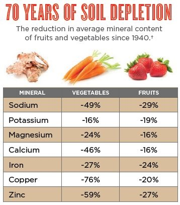 Soil depletion, and why we need minerals more than ever... Life Minerals